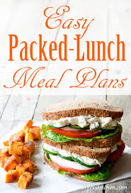 Form 1 – Packed Lunches